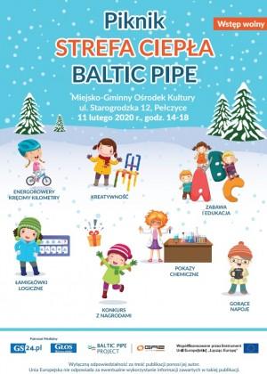 Startują zimowe pikniki – zapraszamy do Strefy Ciepła Baltic Pipe w Pełczycach!