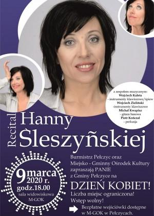 Recital Hanny Śleszyńskiej z okazji Dnia Kobiet