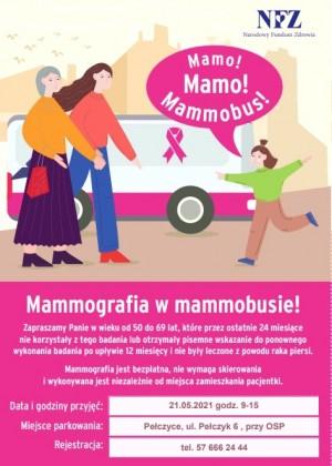 ZACHODNIOPOMORSKI ODDZIAŁ WOJEWÓDZKI NFZ zaprasza na bezpłatne badania mammograficzne.